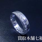 GUCCI(グッチ) フルエタニティ ダイヤリングをお買取り致しました。