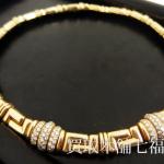 BVLGARI(ブルガリ) 750YG(K18) ダイヤモンド 5.00ct ネックレスをお買取致しました。