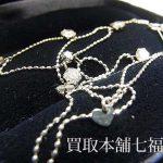 【買取相場10,000~20,000円】Pt850 プラチナ メレダイヤモンド 1.10ct付き ネックレスをお買取致しました。