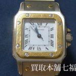 Cartier(カルティエ) 1565 サントス ガルべSM / W20058C4 LMなどをお買取りしました。