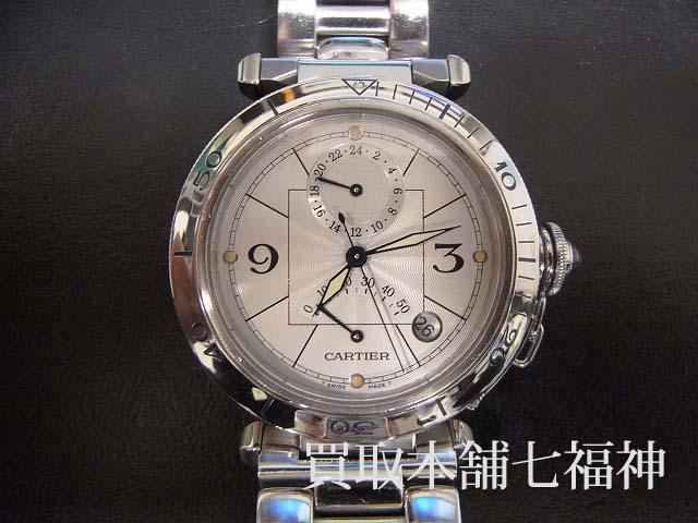Cartier(カルティエ)パシャ GMTパワーリザーブ