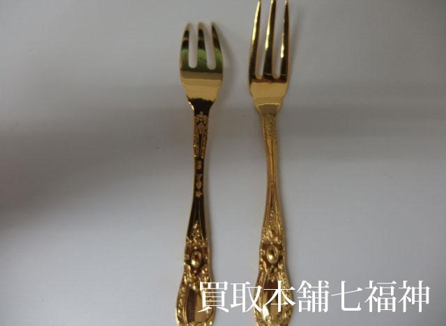 K24(純金)フォーク