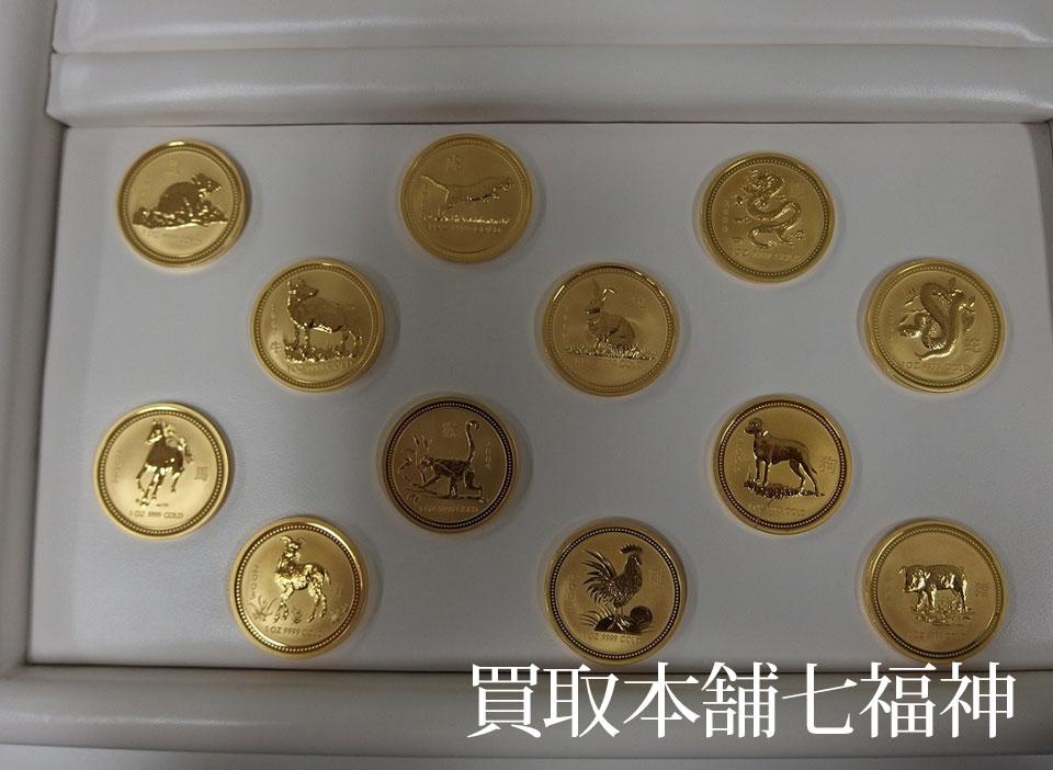 K24(純金) 干支金貨セット