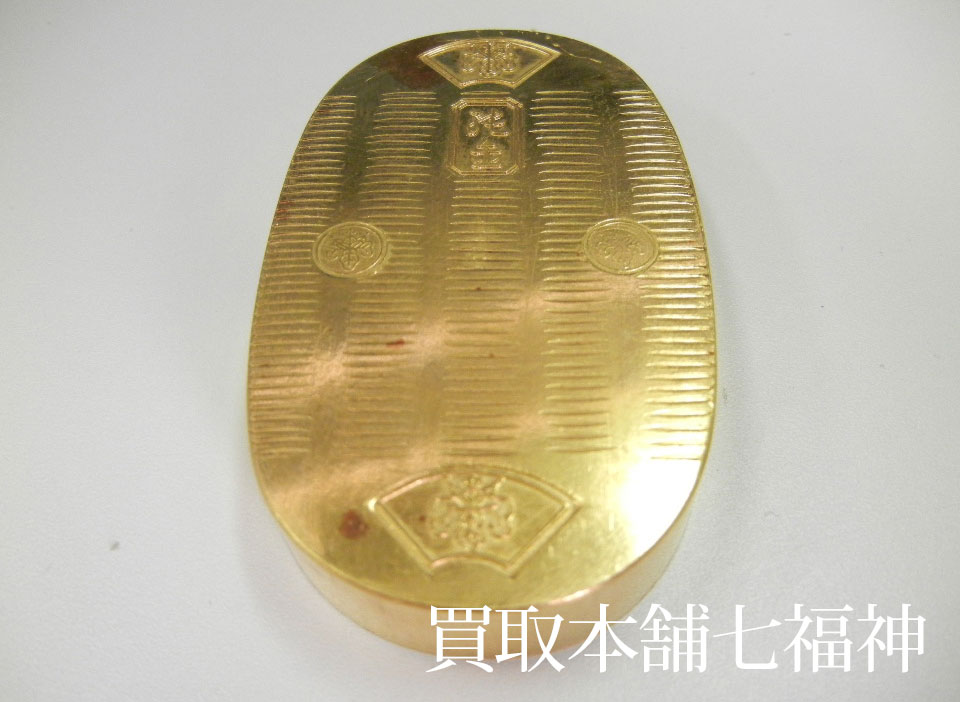 K24 レプリカ小判(純金製)