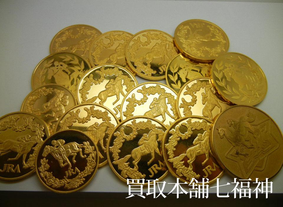 K24 JRA優勝記念メダル