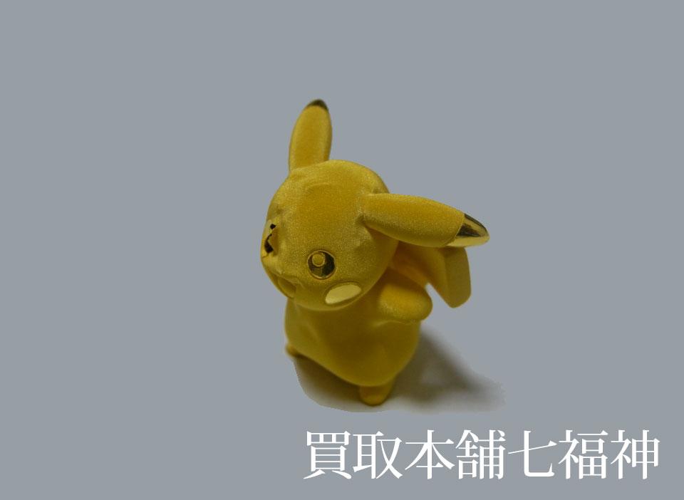 K24(24金)純金 ピカチュウ(キャラクターフィギュア)