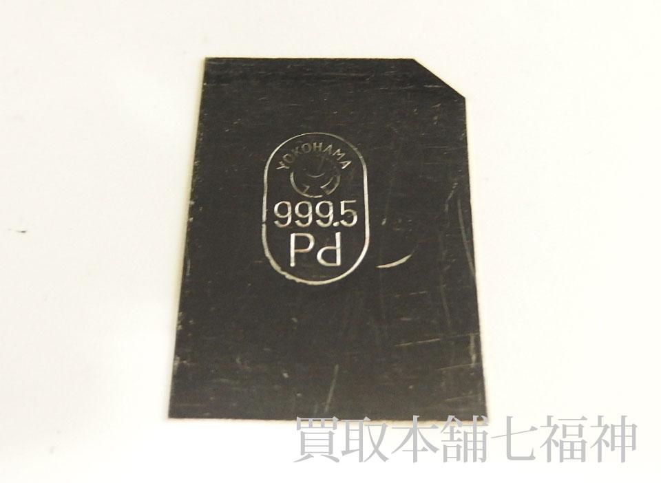Pd1000(パラジウム)板材