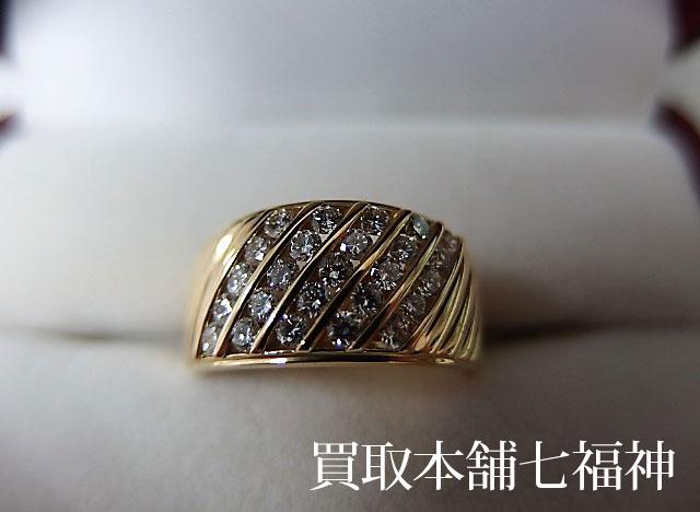 K18 メレダイヤ 0.71ct リング