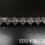 【買取相場180,000~200,000円】K18WGダイヤモンドブローチ2.33ctをお買取り致しました。