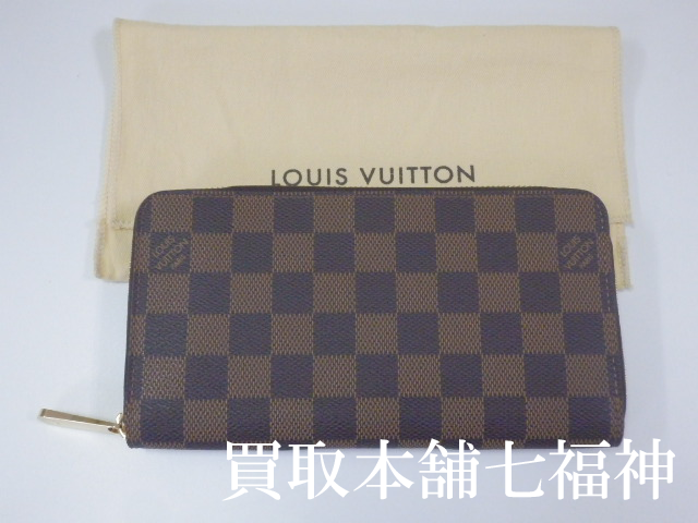 LOUIS VUITTON(ルイ・ヴィトン) ダミエ ジッピーウォレット