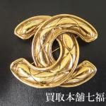 【買取相場13,000~21,000円】CHANEL(シャネル)ヴィンテージブローチをお買取り致しました。