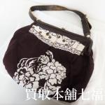 【買取相場3,500~5,000円】miumiu(ミュウミュウ)ワンショルダーバッグをお買取り致しました。
