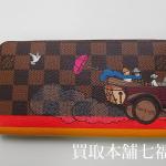 【買取相場15,000~30,000円】LV(ルイヴィトン)ダミエ ジッピーウォレット(財布)N61240をお買取致しました。