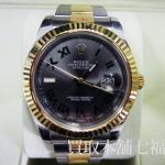 【買取相場850,000~900,000円】ROREX(ロレックス)デイトジャストⅡ 116333 G番をお買取り致しました。
