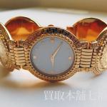 【買取相場45,000~60,000円】Versace(ヴェルサーチ) メデューサ コインウォッチ 7008002をお買取致しました。