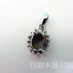 【買取相場8,000~11,000円】Pt850 プラチナ メレダイヤ付きペンダントトップをお買取致しました。