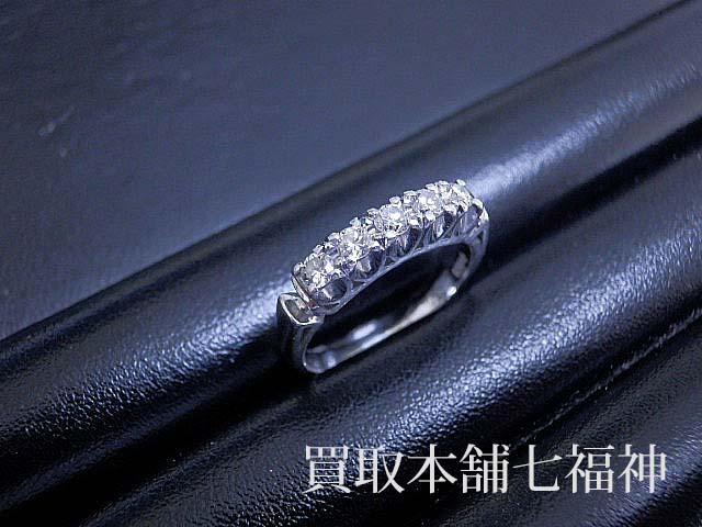 Pt900 メレダイヤモンド付プラチナリング