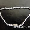 Pt850 プラチナ ダイヤ付きブレスレット