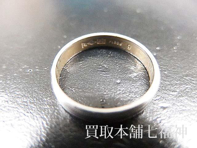 Pt850 プラチナ結婚指輪(マリッジリング)