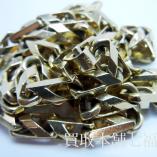 18K【アトK 】刻印の金ネックレス