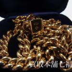 K18(750刻印) ネックレスをお買取致しました。