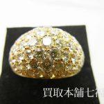 【買取相場160,000~180,000円】K18 ダイヤモンドリング 5.86ctをお買取り致しました。