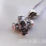 1.76ctのダイヤモンド付きのプラチナネックレス