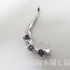 0.52ctのダイヤモンドが付いているプラチナトップ