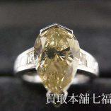 ブラウンダイヤモンドリング