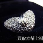 【買取相場35,000~40,000円】Pt900 メレダイヤ 1.02ct ペンダントをお買取致しました。