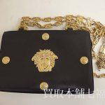 【買取相場5,000~10,000円】VERSACE(ヴェルサーチ)メデューサチェーンバッグをお買取致しました。